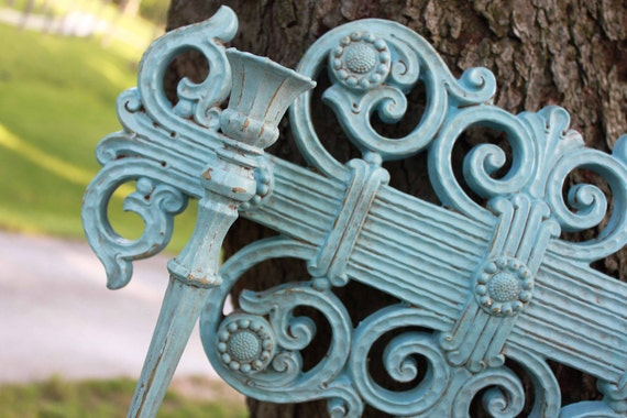 Ornate Double Sconces // Hollywood Regency // Ornate Candle Holders // French Country // Shabby chic