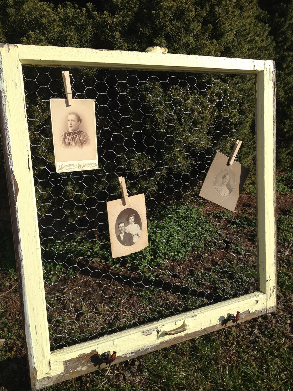 Chicken Wire Idea Board — Crafthubs