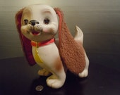 Edward Mobley, 1962, Rubber Dog Toy with Plush Ears