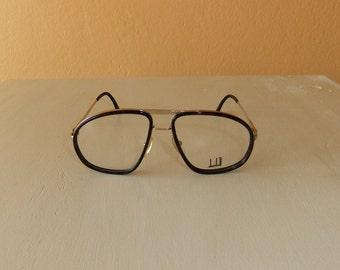 Vintage Dunhill Horn-Rimmed Eyeglass Frame 02 -- New Old Stock
