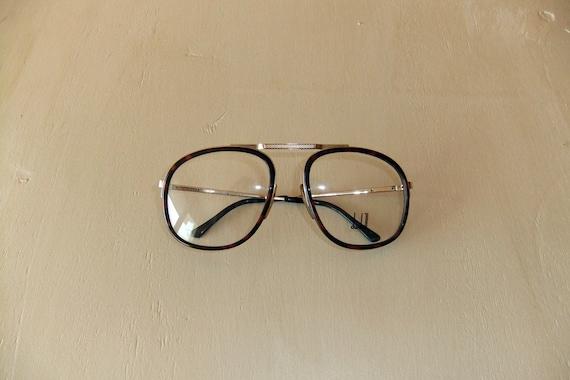 Vintage Dunhill Horn-Rimmed Eyeglass Frame 01 New Old Stock