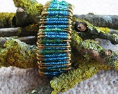 Green eye bracelet...