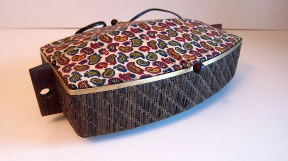 Electric Bun Warmer ~ Vintage salton bun warmer hot tray electric paisley