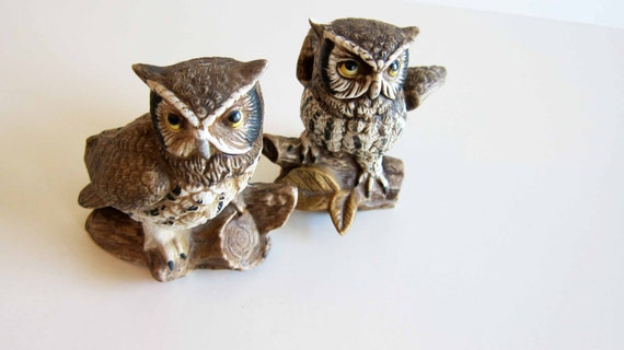 Owl figurine Collectable Vintage Owls