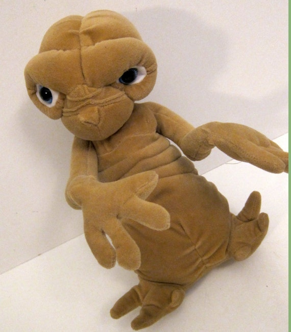 ET Plush Figuine Vitnage Movie Memorbila Extra Terrestrial ET Doll 80's Toys 80's Movies Collectable