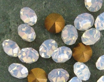 Swarovski White Opal Rhinestones in Size 24PP.  3 dz.