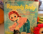 Raggedy Andy The I Can Do It You Can Do It Book Vintage Rare 1975
