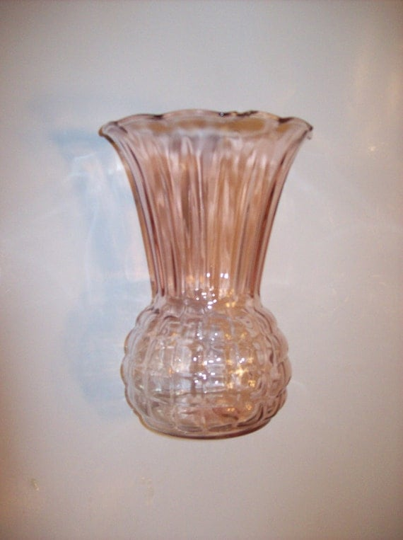 Snap Vintage Anchor Hocking Pink Depression Glass By