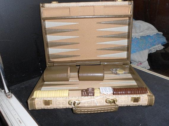 1970's PIerre Cardin Backgammon Set
