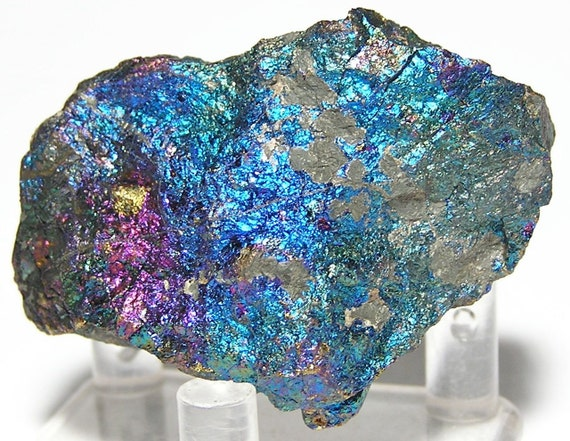 Peacock Ore Chalcopyrite Ray Mine Natural Purple by ...