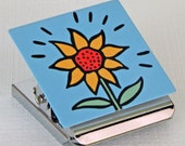 Sunflower Metal Clip Magnet