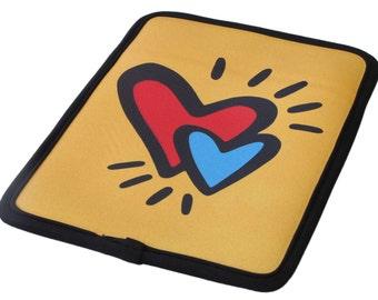 "Hearts Kindle Case Neoprene/ fits 6""-7"" e-readers & tablets - 50% Off Kindle Case Sale"