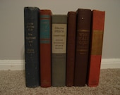 Collection of 6 Vintage Books from 1940's