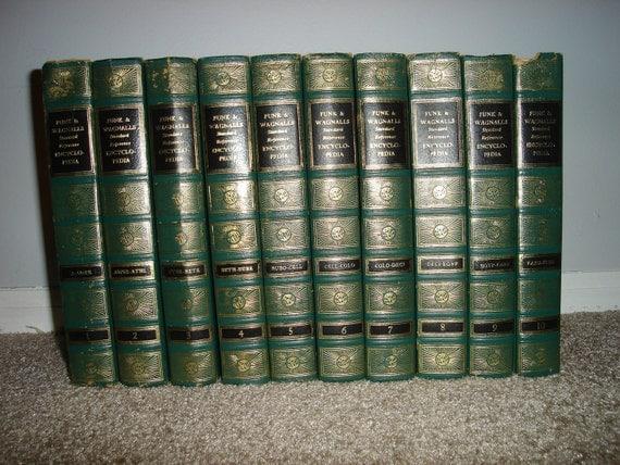 Complete 1959 Funk & Wagnalls Encyclopedia (25 Volumes)