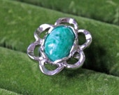 Vintage Sarah Coventry Ring - Turquoise