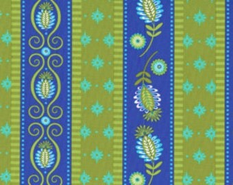 Fabric by the Yard - Michael Miller - Garden Gate in Periwinkle