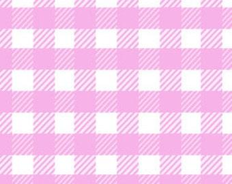 Michael Miller Fabrics - School Gingham in Lilac - 1 Yard