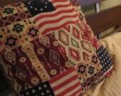 Folk Southwestern Americana Pillow
