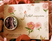Violet - single note solid perfume