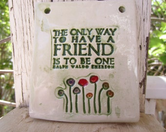 Friendship Ceramic Tile