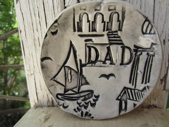 Ceramic Dish Gift for Dad