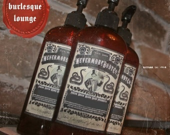 Soap Burlesque Lounge Pump Liquid Hand Soap Nevermore Body Company