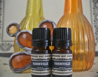 Perfume Oil Vaudville Fragrance Chocolate Spicy Pepper Merlot Espresso Nevermore Body Company