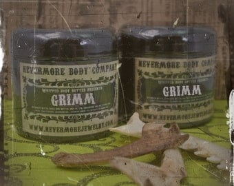 NEW Grimm whipped body butter lotion Vegan Sweet Plums Spices
