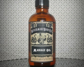 Massage Oil Shea Butter Nevermore Body Company Your Choice