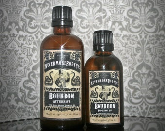 Pre-Shave Oil and Aftershave Set Nevermore Body Company You Choose