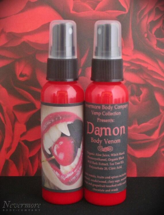 VAMP Damon Men's Body Spray Nevermore Body Company Vampire