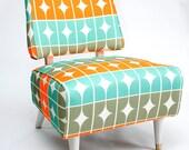 Funky Retro Slipper Chair
