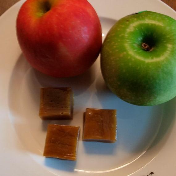 Caramel Apple Salted Caramels- 1 lb.