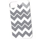 Funky Gray Chevron iPhone case