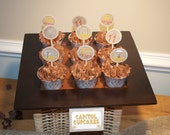 Hunger Games Cupcake Toppers and Wrappers Set