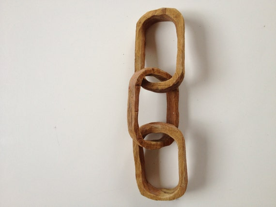 Odd Fellows Wooden Chain Link