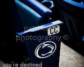"Penn State Beaver Statium Joe Paterno Quote Photo Print - 8"" x 12"""