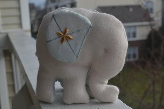 Luxe Plush Elephant