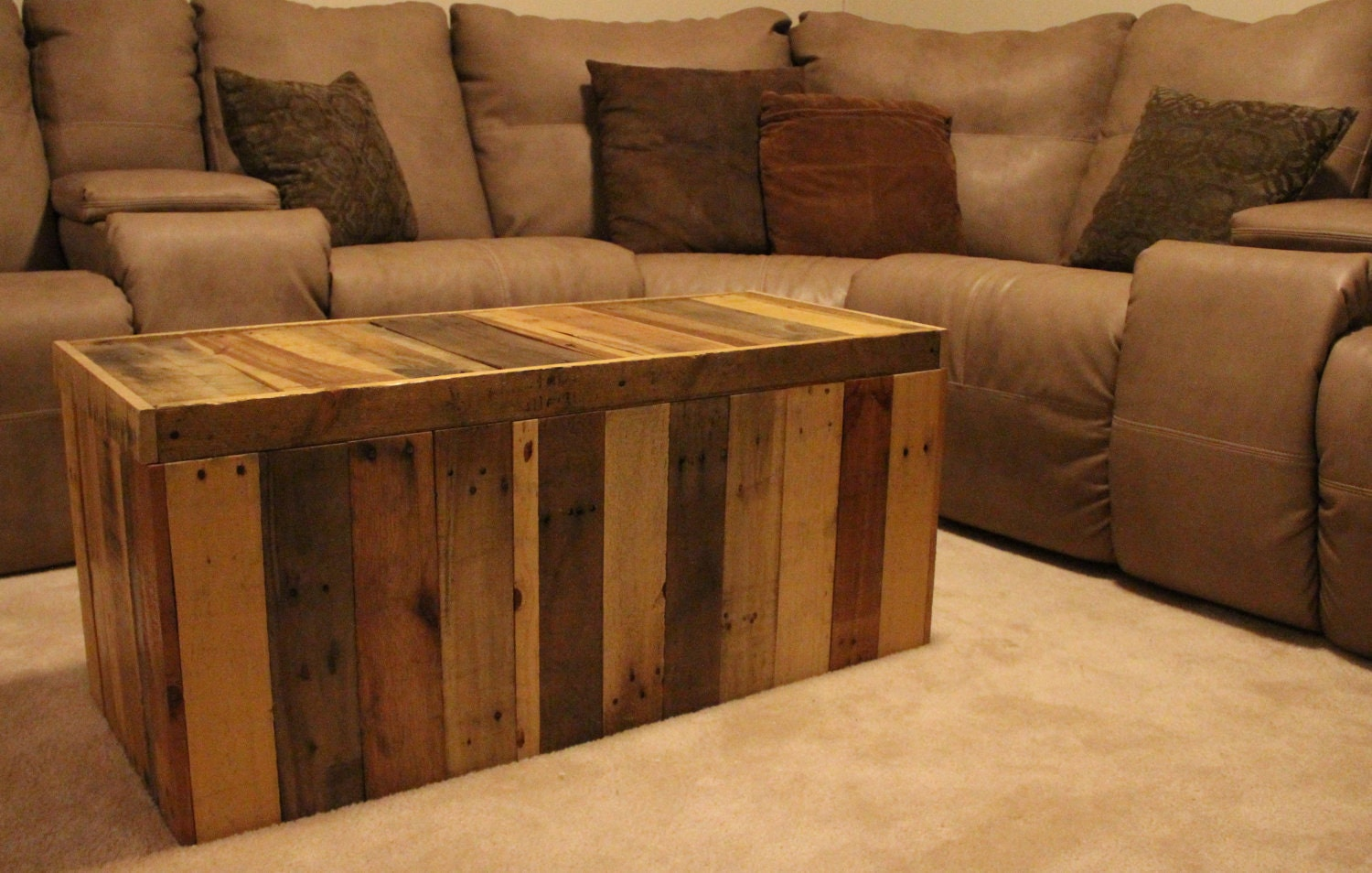 how to make a toy chest out of pallets | Quick Woodworking ...