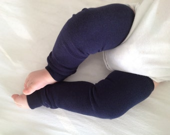Navy Blue Baby Legs/ Leg Warmers/ Toddler Wear