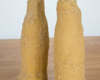 Beeswax Coke Bottle Candles