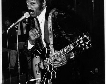 Fine Art Photography by Allen Brand: Chuck Berry in New York City.