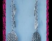 Metal Angel Wings Earrings