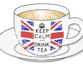 Digital (Digi) Great British Cuppa  Stamp