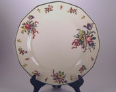 Royal Dalton Old Leeds Sprays Pattern Large Dinner Plate