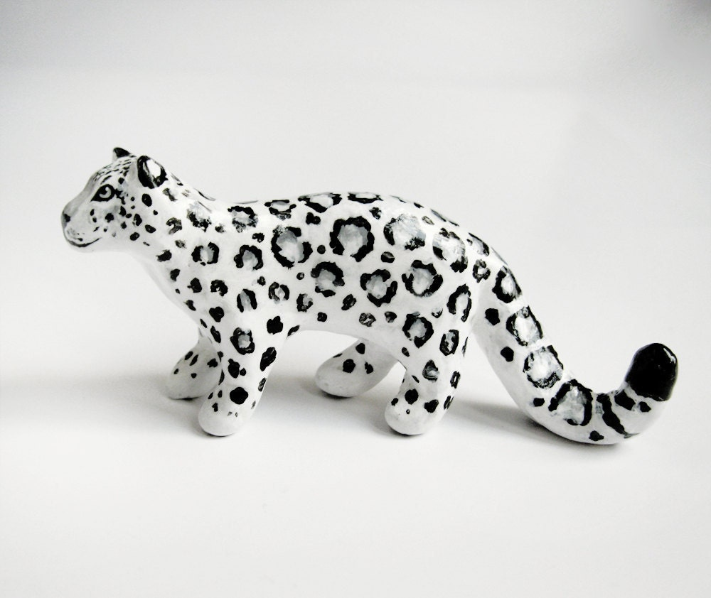 how to make arctic animals out of clay