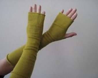 2 ply Cashmere & Silk Arm Warmers