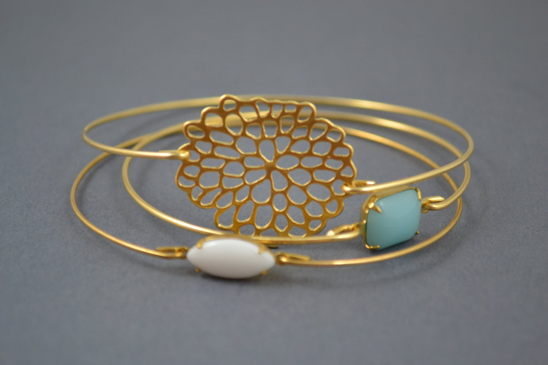 gold bangle gold bracelet wire bangle flower bracelet. Black Bedroom Furniture Sets. Home Design Ideas