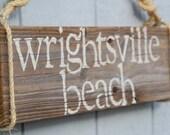 CUSTOM beach sign- your favorite beach or island