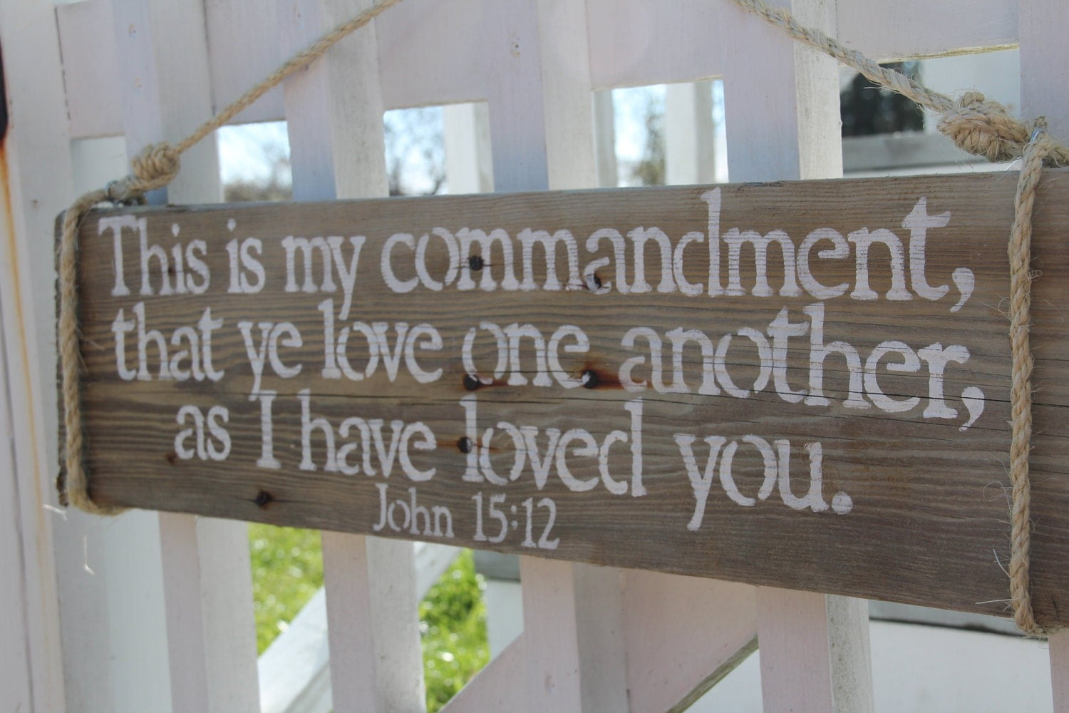 Custom Quote Design Your Own Handpainted Reclaimed Wood Sign